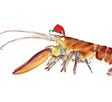 Lobster Santa by Tamara Clark