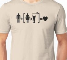 Funny Drinking Relationship Unisex T-Shirt