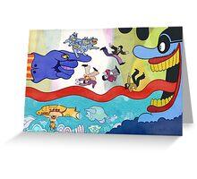 Pepperland Greeting Card