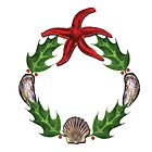 Marine Wreath by Tamara Clark
