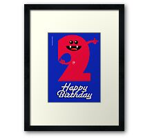 HAPPY BIRTHDAY 2 Framed Print