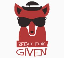 Zero Fox Given Baby Tee