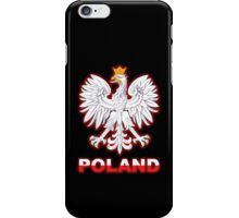 Poland - Polish Coat of Arms - White Eagle iPhone Case/Skin