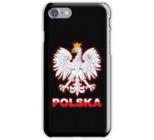 Polska - Polish Coat of Arms - White Eagle iPhone Case/Skin
