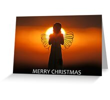 Merry Christmas Angel Greeting Card