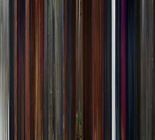 Moviebarcode: Coraline (2009) by moviebarcode