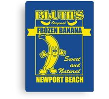 Bluth's Original Frozen Banana Canvas Print