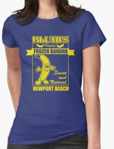 Bluth's Original Frozen Banana Womens Fitted T-Shirt