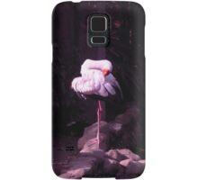 yoga white crane Samsung Galaxy Case/Skin