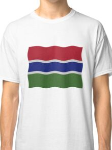 Gambia flag Classic T-Shirt