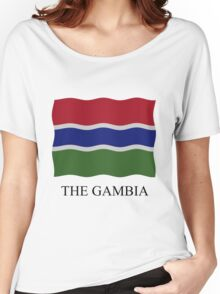 Gambian flag Women's Relaxed Fit T-Shirt