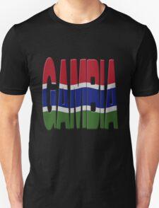 Gambian flag Unisex T-Shirt