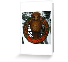 The Owl Post At Hogsmeade Greeting Card