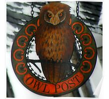 The Owl Post At Hogsmeade Poster