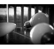 Light bulb Photographic Print