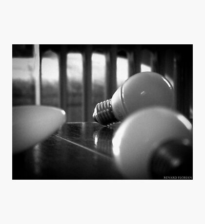 Light bulb Photographic Print