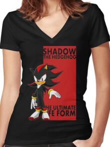 The Ultimate Life Form Women's Fitted V-Neck T-Shirt