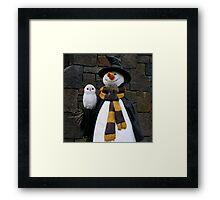 Christmas At Hogsmeade Framed Print