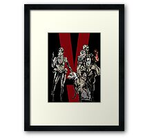 Big Boss and Quiet Framed Print