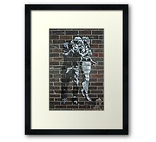 Night out with Kate Moss! Framed Print