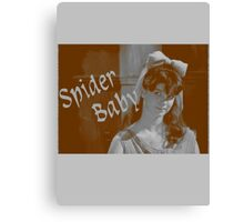 Spider Baby - a cult horror icon Canvas Print