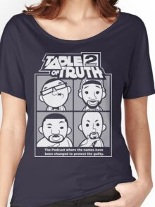 The Table of Truth Faces Logo Tee Women's Relaxed Fit T-Shirt
