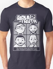 The Table of Truth Faces Logo Tee Unisex T-Shirt