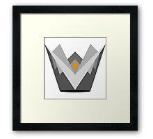 Fire Crown Framed Print