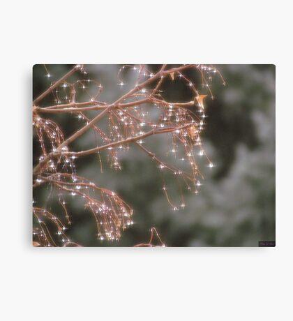 Diamond Tree Canvas Print