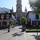 The entrance to the main church of Puerto Vallarta, Mexico by PtoVallartaMex