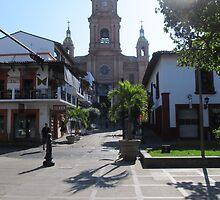 The entrance to the main church of Puerto Vallarta, Mexico by PtoVallartaMex
