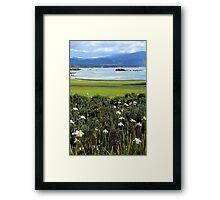 Pebble Beach's 18th Hole Framed Print