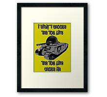 Tog II Tank T shirts Framed Print