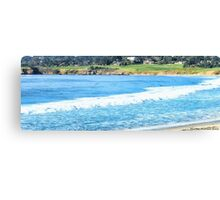 Pebble Beach from Carmel Canvas Print