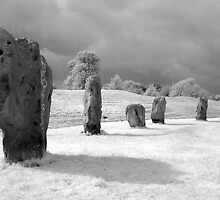 Infrared Photo - Avebury by paulaross