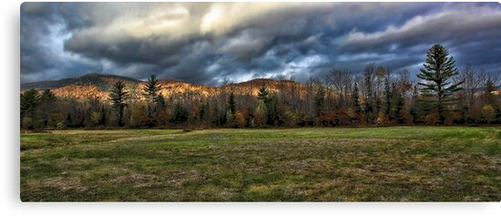 Autumn - Maine Foothills by T.J. Martin