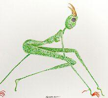 lizard woman by nnelsonart