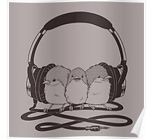 THR33 LIL' BIRDS Poster