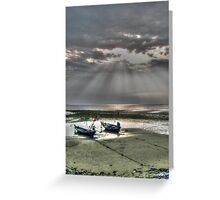 stormy sunset Greeting Card