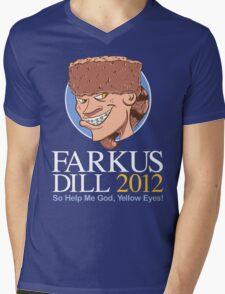 Farkus for President Mens V-Neck T-Shirt