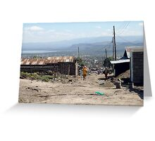 Giotto Dump Site - Nakuru Greeting Card