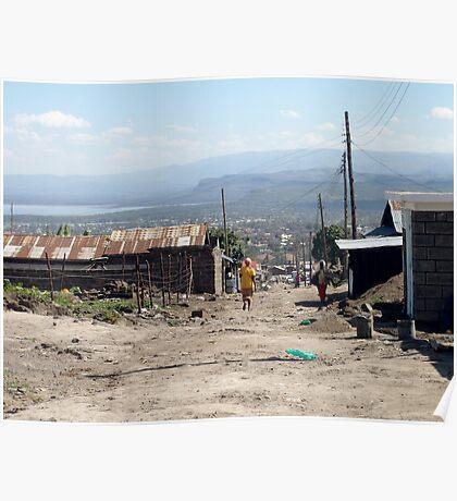 Giotto Dump Site - Nakuru Poster