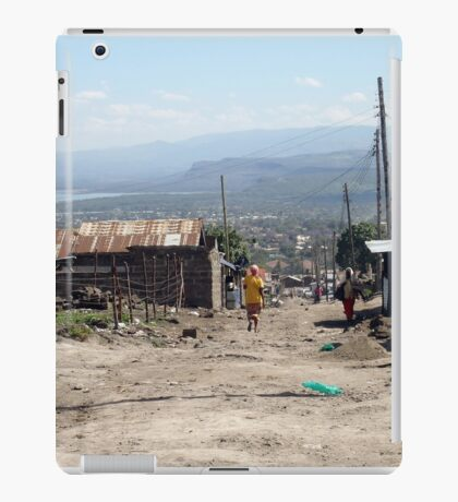 Giotto Dump Site - Nakuru iPad Case/Skin