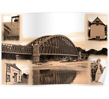 Spey Bridge, Garmouth Poster