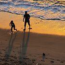 Playing with the waves - Jugando con las olas by PtoVallartaMex