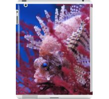 Lionfish in a red seaweed iPad Case/Skin