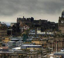 Old Town Skyline by Tom Gomez