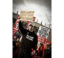 Liverpool Protesters - We Are From The Internet Photographic Print