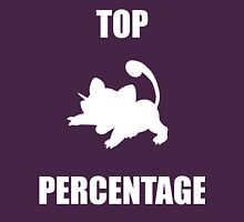 Ratatta: TOP PERCENTAGE (White) Unisex T-Shirt