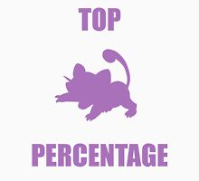 Ratatta: TOP PERCENTAGE (Purple) Unisex T-Shirt